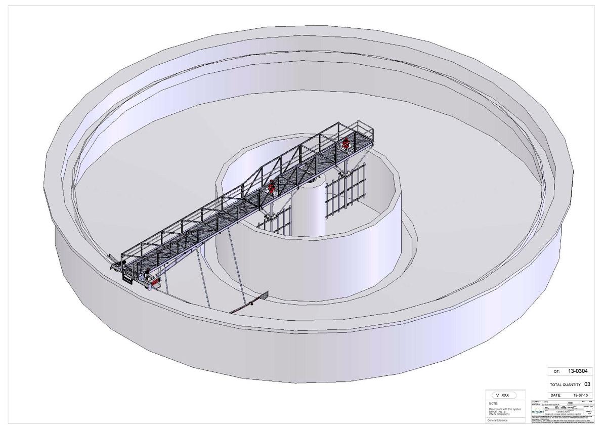 Circular Clariflocculator Clari Pro Estruagua