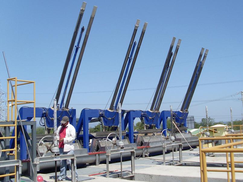Reja automática hidráulica HIDRORAKE