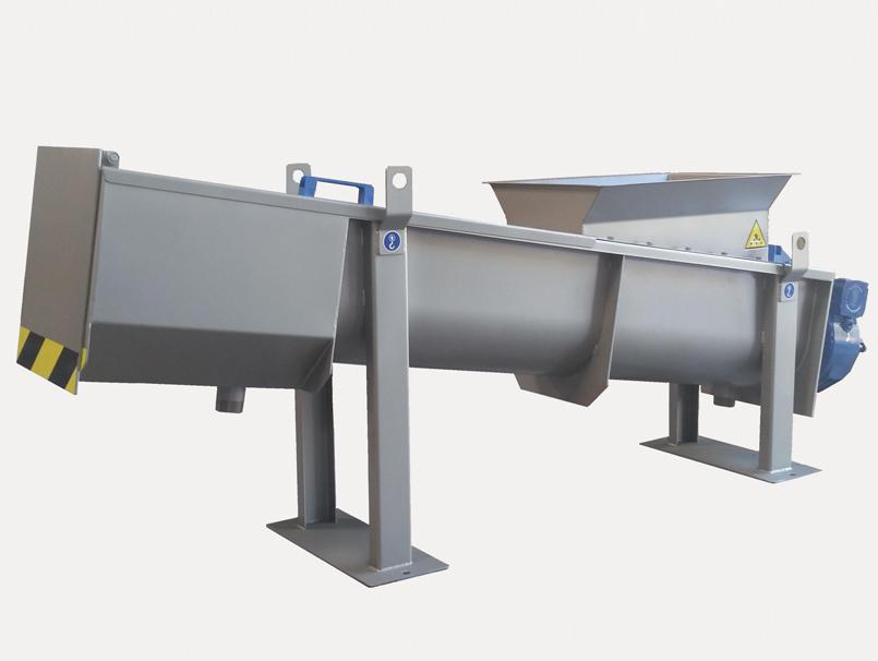 Sinfín compactador helicoidal BUFFALO PRO