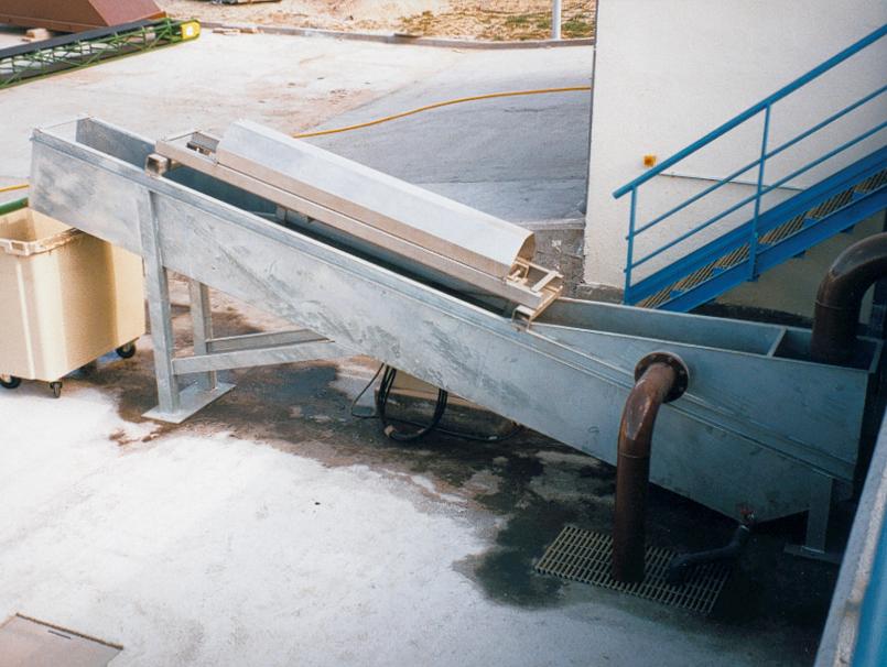 Clasificador de arenas hidráulico HIDRAMEC