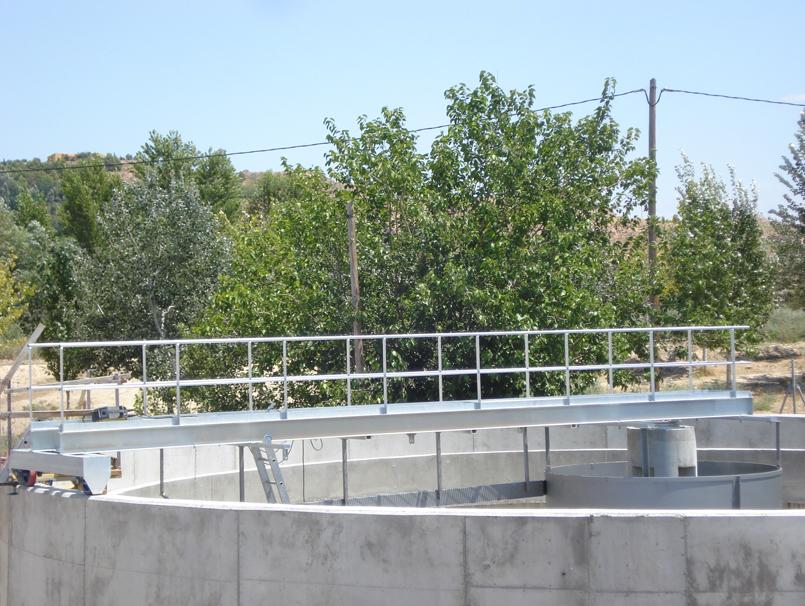 Puente decantador circular LODON