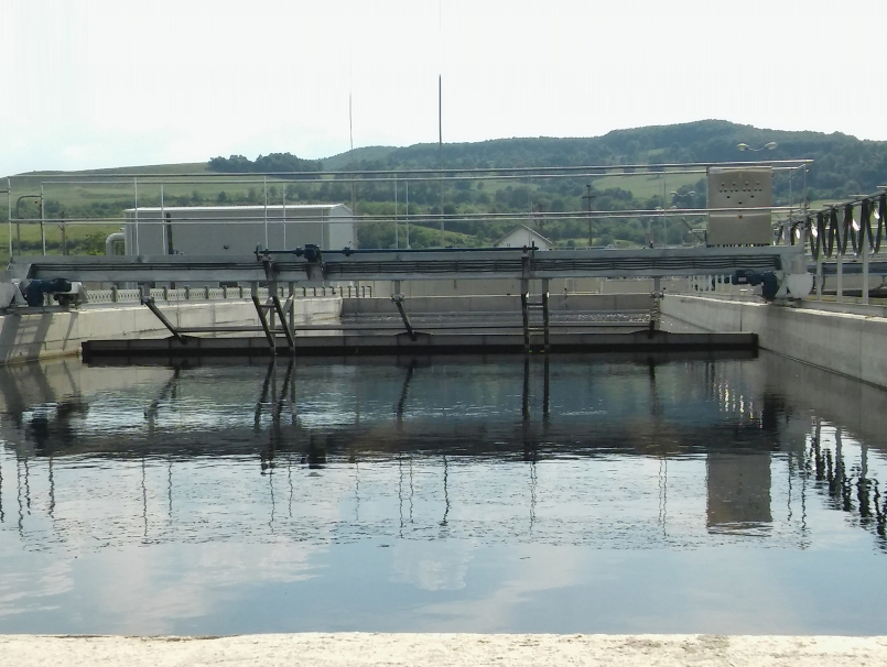 Puente longitudinal rascador de flotantes y fondo LONGSLUDGE