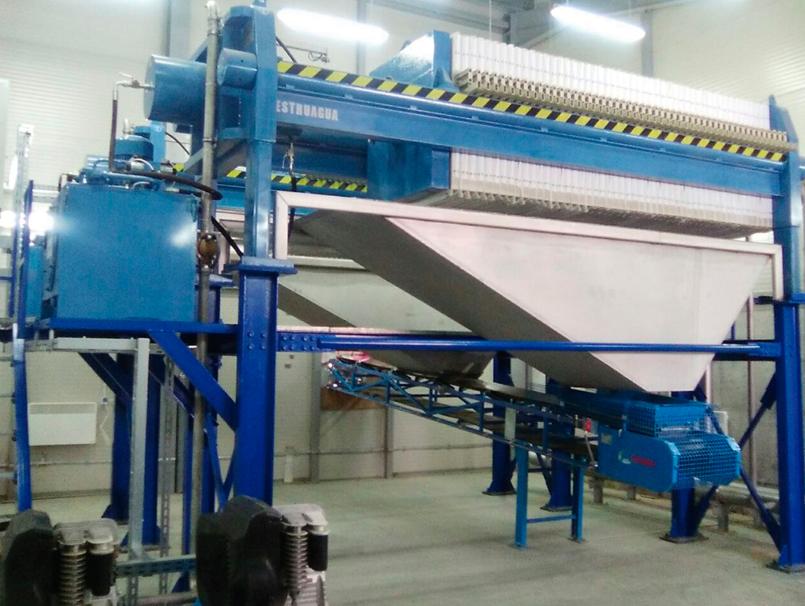 Filtro prensa hidráulico MURANO