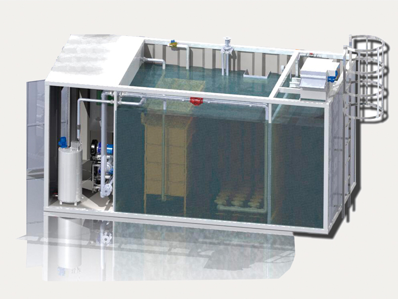 Modular purification plant MBRPACK ®