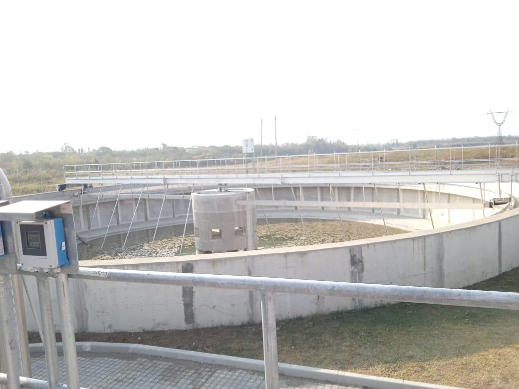 Puentes de decantación circulares LODON - Estruagua