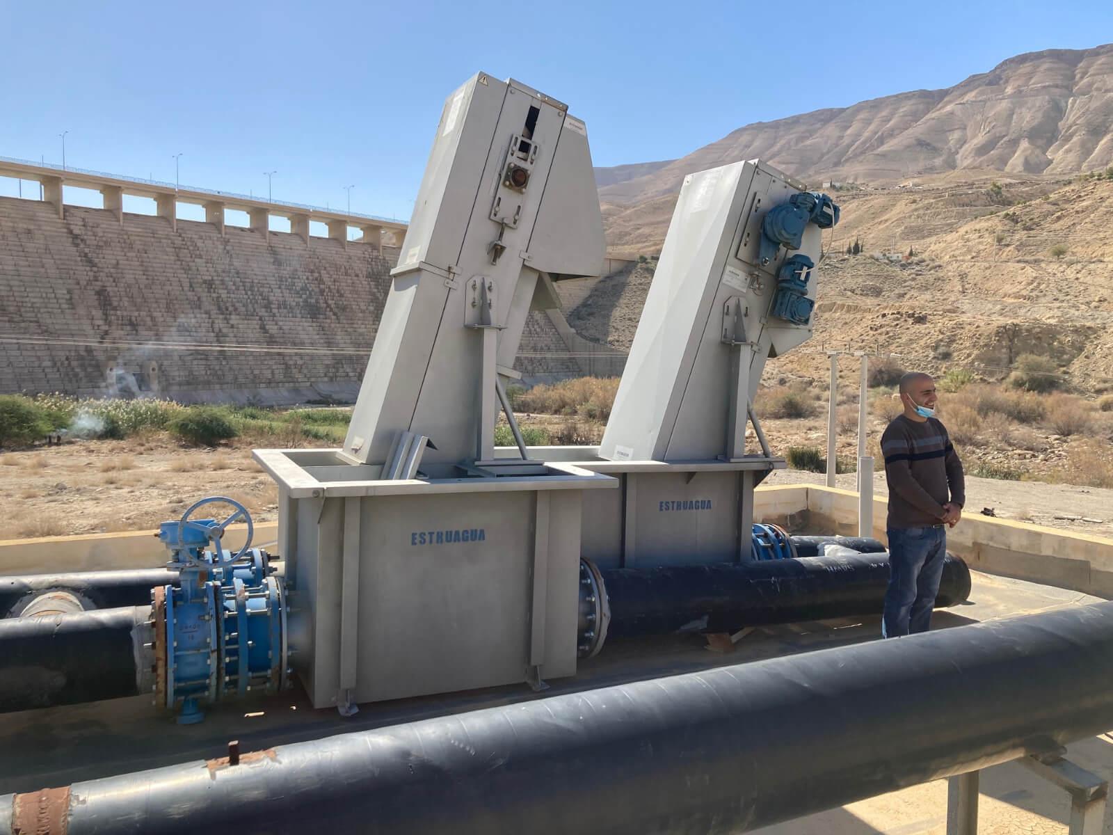 Instalación en Jordania Estruagua