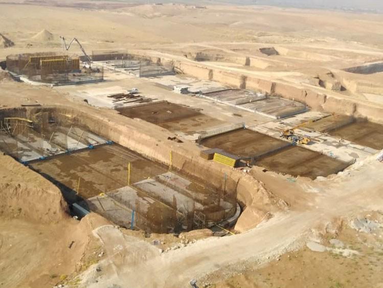 Iraq planta depuradora de aguas residuales