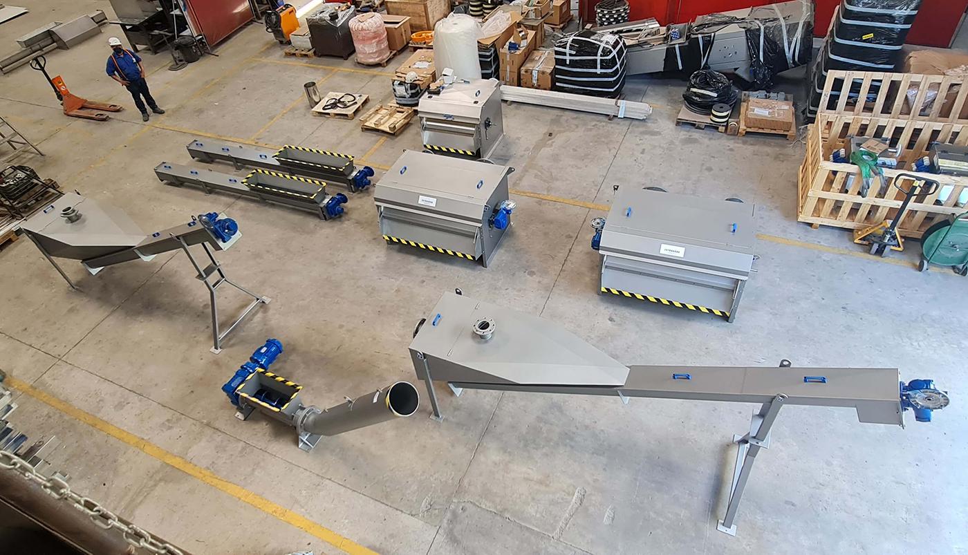Aguas residuales equipos Estruagua - Proyecto CAMBOYA